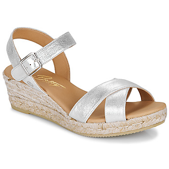 Schuhe Damen Sandalen / Sandaletten Betty London GIORGIA Silbern