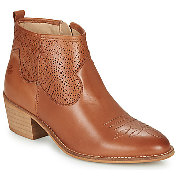 Schuhe Damen Low Boots Betty London MARILENE Camel
