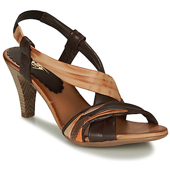 Schuhe Damen Sandalen / Sandaletten Betty London POULOI Camel