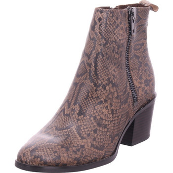 Schuhe Damen Stiefel Caprice Woms Boots TAUPE SNAKE