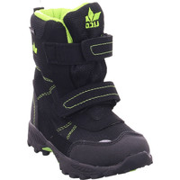 Schuhe Kinder Schneestiefel Lico Halifax V schwarz/lemongrUEn