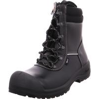 Schuhe Herren Boots Sievi S3 Solid IN XL+ schwarz
