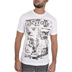 Kleidung Herren T-Shirts Dsquared S74GD0531 Weiss