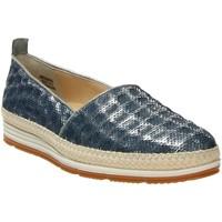 Schuhe Damen Slip on Paul Green Slipper 1980-109 blau