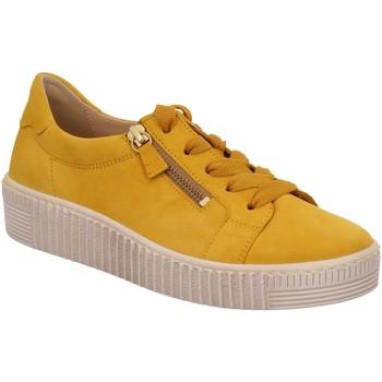 Schuhe Damen Derby-Schuhe & Richelieu Gabor Schnuerschuhe 43.334.10 gelb