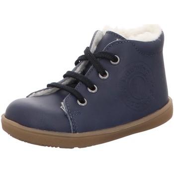 Schuhe Jungen Babyschuhe Däumling Schnuerschuhe gefüttert 040015-S-36 blau