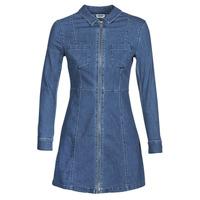 Kleidung Damen Kurze Kleider Noisy May NMLISA Blau