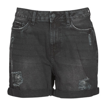 Kleidung Damen Shorts / Bermudas Noisy May NMSMILEY Schwarz
