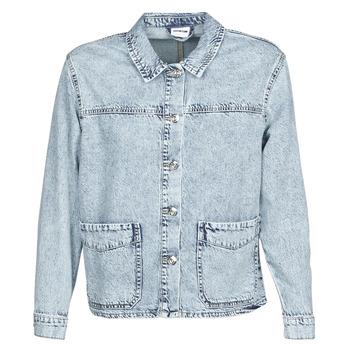 Kleidung Damen Jacken / Blazers Noisy May NMMELODIE Blau