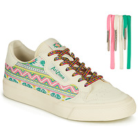 Schuhe Kinder Sneaker Low adidas Originals CONTINENTAL VULC J Weiss