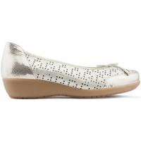 Schuhe Damen Ballerinas Drucker Calzapedic Dancer herausnehmbare Innensohle GOLDEN