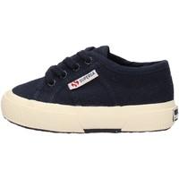 Schuhe Jungen Sneaker Low Superga - 2750 lacci blu S0005P0 2750 933 BLU