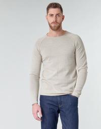 Kleidung Herren Pullover Jack & Jones JJEUNION Beige
