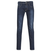 Kleidung Herren Slim Fit Jeans Replay ANBASS Blau