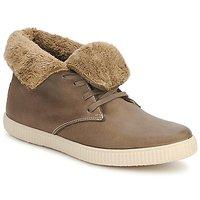 Schuhe Sneaker High Victoria SAFARI ALTA PIEL TINTADA PELO Maulwurf