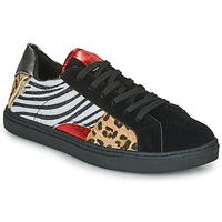 Schuhe Damen Sneaker Low Les Petites Bombes MOONWALK Schwarz