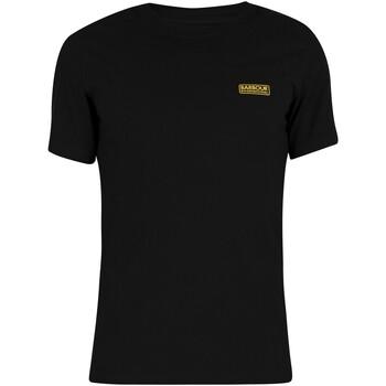 Kleidung Herren T-Shirts Barbour Kleines Logo T-Shirt schwarz