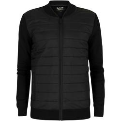 Kleidung Herren Daunenjacken Barbour Baffle Zip Jacket schwarz