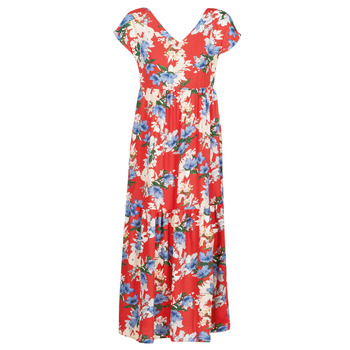 Kleidung Damen Maxikleider Betty London MALIN Rot / Weiss / Blau