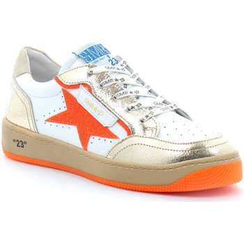 Schuhe Damen Sneaker Low Semerdjian ARTO Blanc