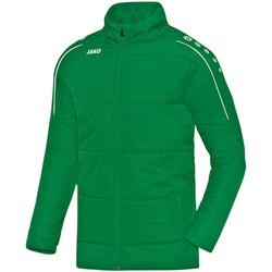 Kleidung Herren Daunenjacken Jako Sport Coachjacke Classico 7150 06 grün