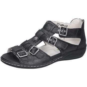 Schuhe Damen Sandalen / Sandaletten Waldläufer Sandaletten Hilena schwarz