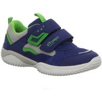 Schuhe Jungen Fitness / Training Superfit Hallenschuhe KINDERSCHUHE   LK \ STORM 06382-81 blau