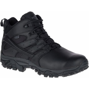 Schuhe Herren Wanderschuhe Merrell Moab 2 Mid Response Waterproof Schwarz