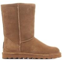 Schuhe Damen Schneestiefel Bearpaw Elle Braun
