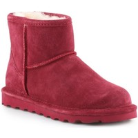 Schuhe Damen Schneestiefel Bearpaw Alyssa Dunkelrot