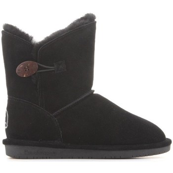 Schuhe Damen Schneestiefel Bearpaw Rosie Schwarz