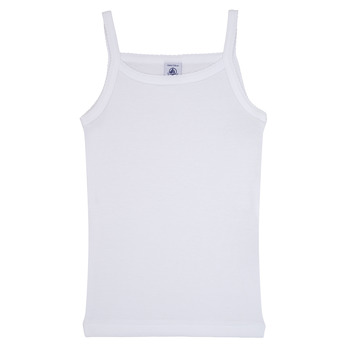 Kleidung Mädchen Tops Petit Bateau 53295 Weiss