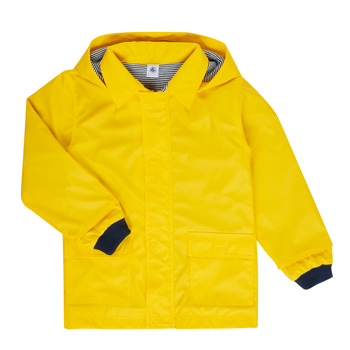 Kleidung Kinder Parkas Petit Bateau FATAH Gelb