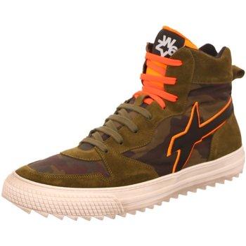 Schuhe Herren Sneaker High W6yz Mig-M 001-2501688-02-1F08 oliv