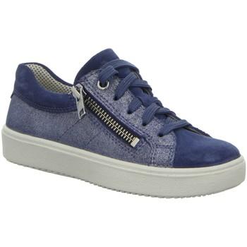 Schuhe Mädchen Derby-Schuhe & Richelieu Superfit Schnuerschuhe Schnürhalbschuh HEAVEN 6-06489-80 blau