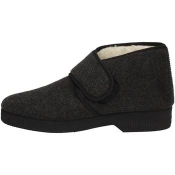 Schuhe Herren Hausschuhe Davema 1378 GRAY