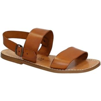 Schuhe Herren Sandalen / Sandaletten Gianluca - L'artigiano Del Cuoio 500 U CUOIO CUOIO Cuoio