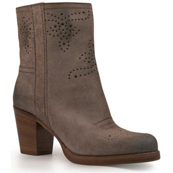 Schuhe Damen Low Boots Car Shoe KDT63H 0B2 F0308 Antracite