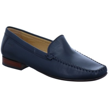 Schuhe Damen Slipper Sioux Slipper 63102/56230 blau