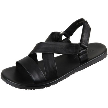 Schuhe Damen Sandalen / Sandaletten The Sandals Factory Sandaletten M6527 nero nero Vitello M6527 nero schwarz