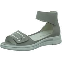 Schuhe Damen Sandalen / Sandaletten Waldläufer Sandaletten 922804-162-070 922804-162-070 grau