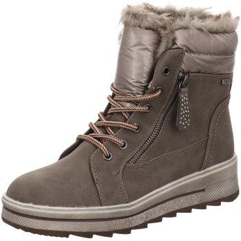 Schuhe Damen Stiefel Firence Stiefeletten Supremo Schnürboots mud 7923702 braun
