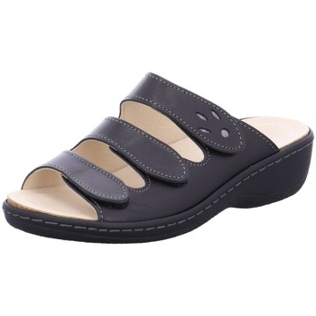 Schuhe Damen Pantoletten / Clogs Longo Komfort Beq-Pantl-Wörishf-30 1005313 schwarz