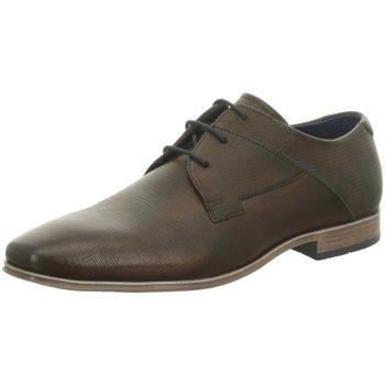 Schuhe Herren Derby-Schuhe & Richelieu Bugatti Schnuerschuhe Morino braun