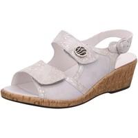 Schuhe Damen Sandalen / Sandaletten Waldläufer Sandaletten 341012-204/950 grau