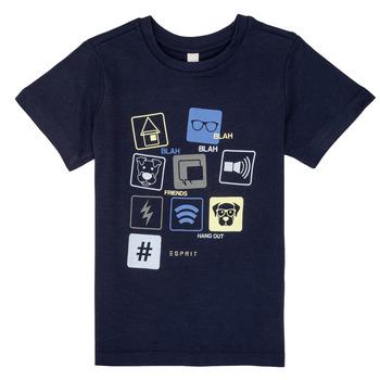 Kleidung Jungen T-Shirts Esprit ENZIEO Marine