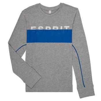 Kleidung Jungen Langarmshirts Esprit FABIOLA Grau