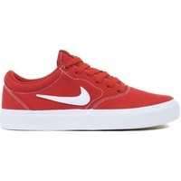 Schuhe Kinder Sneaker Low Nike SB Charge GS Rot