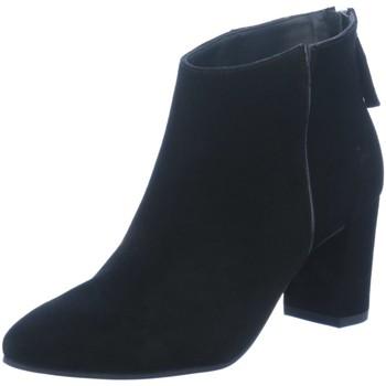 Schuhe Damen Stiefel Paul Green Stiefeletten 0065-9628-015/Stiefelette 9628-015 schwarz