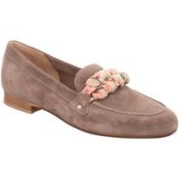 Schuhe Damen Slipper Donna Carolina Slipper 39.223.038-002 grau